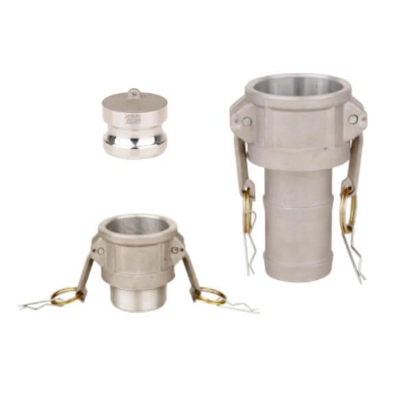 Camlock connectors - aluminum
