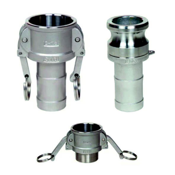Camlock connectors - Stainless steel
