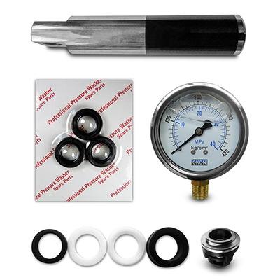 Subassemblies for high pressure pumps