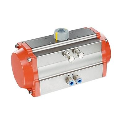 Pneumatic actuators for valves
