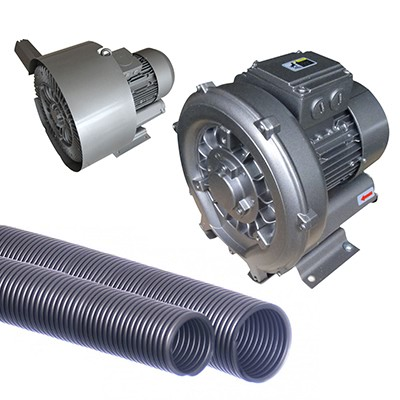 Side channel and side pump blowers