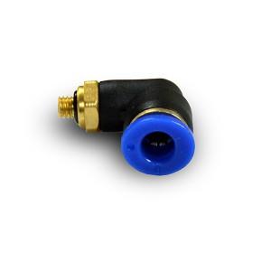 Angular plug nipple hose 6mm thread M5 PL06-M05