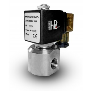 High pressure solenoid valve HP20 1/4 inch 230V 12V 24V