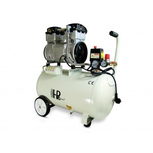 Silent oil-free dental compressor 1100W 50l