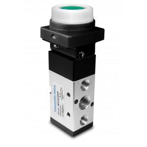 Manual valve 5/2 MV522PP 1/4 inch actuators