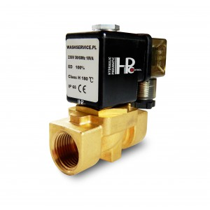 Solenoid valve 2N10 3/8 inch VITON 230V or 12V 24V