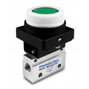 Manual valve 3/2 MOV321PP 1/8 inch actuators