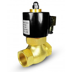 Solenoid valve for steam and high temp. 2L20 3/4 inch180°C
