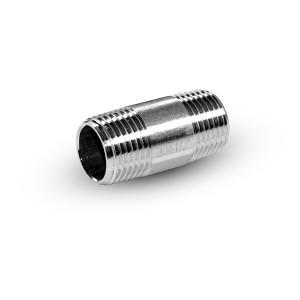 Pipe nipple stainless steel 1/4 inch 38 mm