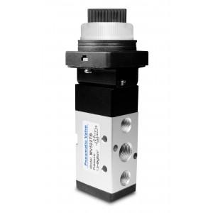 Manual valve 5/2 MV522TB 1/4 inch actuators