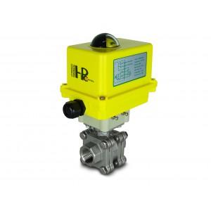 3/4 inch high pressure ball valve DN20 PN125 Actuator A250