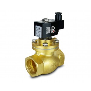 Solenoid valve to steam and high temp. open LH50-NO DN50 200C 2 inches