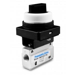 Manual valve 3/2 MOV321TB 1/8 inch actuators