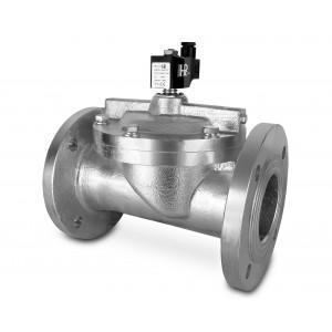 Flanged solenoid valve DF100-NO DN100