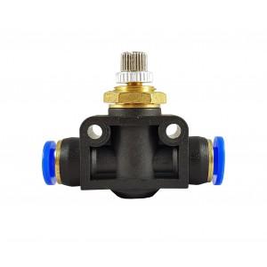 Precision flow regulator choke valve hose 6mm LSA06