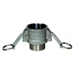 Camlock connector - type B 3/4 inch DN20 SS316