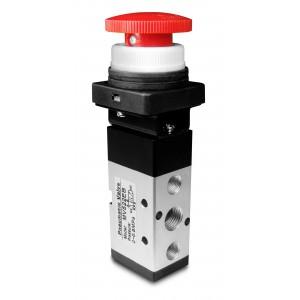Manual valve 5/2 MV522EB 1/4 inch actuators