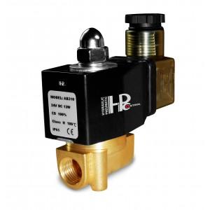 Solenoid valve 2N08 1/4 230V or 24V, 12V Viton - resistant to chemicals