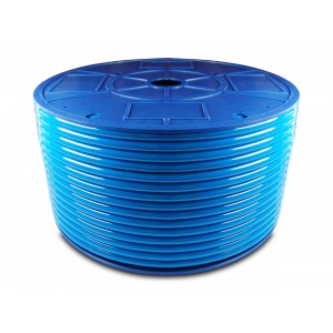 Polyurethane pneumatic hose PU 8/5 mm 1m blue