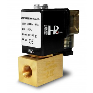 Solenoid valve 2M08 1/4 inch 0-16bar 230V 24V 12V