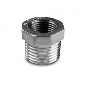 Reduction stainless steel 1/2 - 1/4 inch