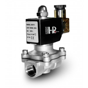 Solenoid valve 2N25 1 inch stainless steel SS304 Viton