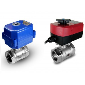 Ball valve 1 1/4 inch with electric actuator A80