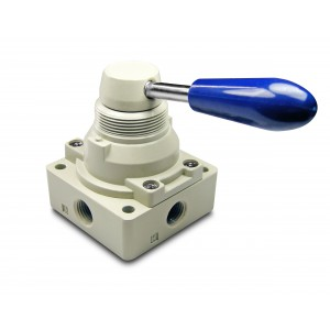 Manual valve 4/3 4HV230-08 1/4 inch actuators