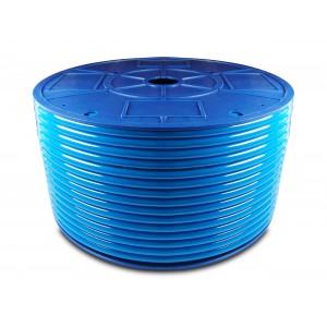Polyurethane pneumatic hose PU 6/4 mm 200m blue