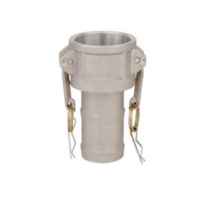 Camlock connector - type C 1 inch DN25 Aluminum