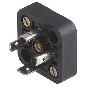 Base for plug 18mm DIN 43650