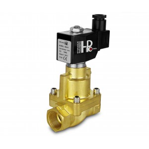 Solenoid valve to steam and high temp. open RH25-NO DN25 200C 1 inch