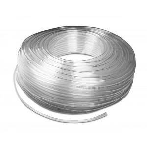 Polyurethane pneumatic hose PU 6/4 mm 1m transp.