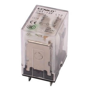 Relay 230VAC 10A 2x NO/NC without base