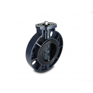 Butterfly valve, throttle UPVC DN200