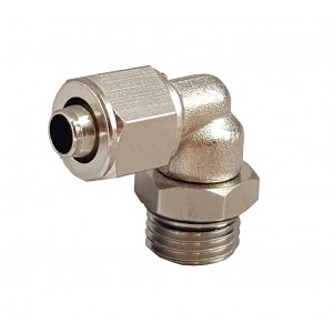 Rapid fittings for tube 8/6 with thread elbow 1/8 inch RPL 8/6-G01
